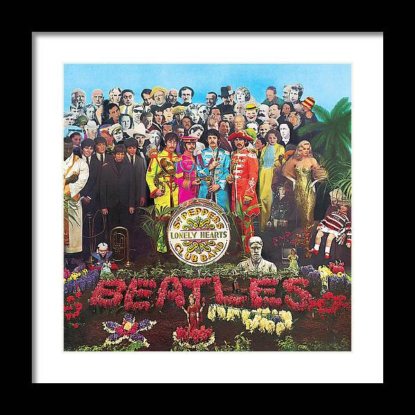 Sgt. Pepper's Lonely Hearts Club Band by The Beatles by Music N Film Prints