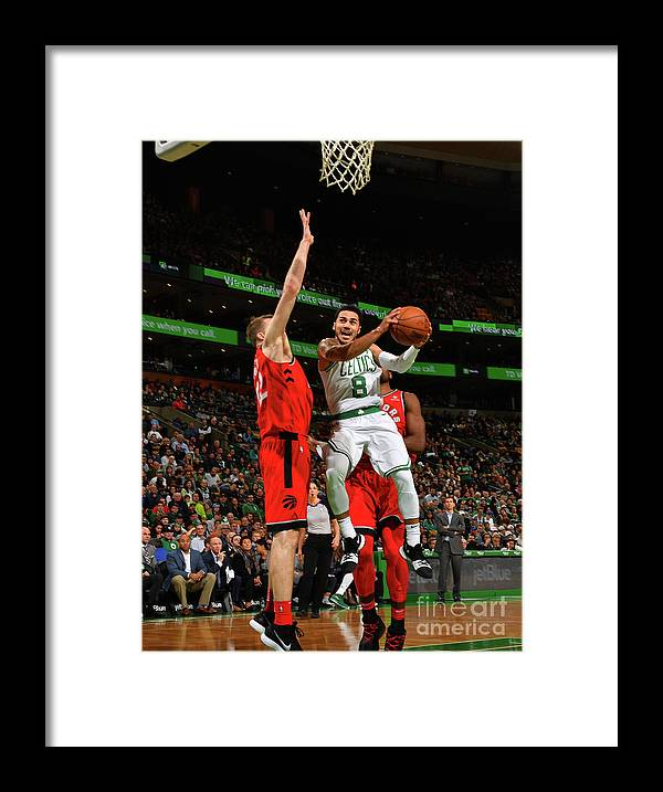 Nba Pro Basketball Framed Print featuring the photograph Shane Larkin by Jesse D. Garrabrant