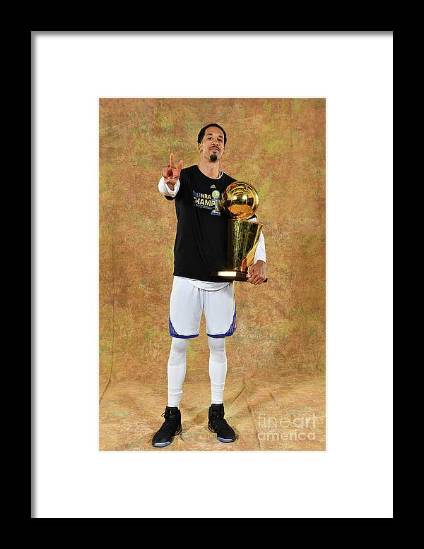 Playoffs Framed Print featuring the photograph Shaun Livingston by Jesse D. Garrabrant