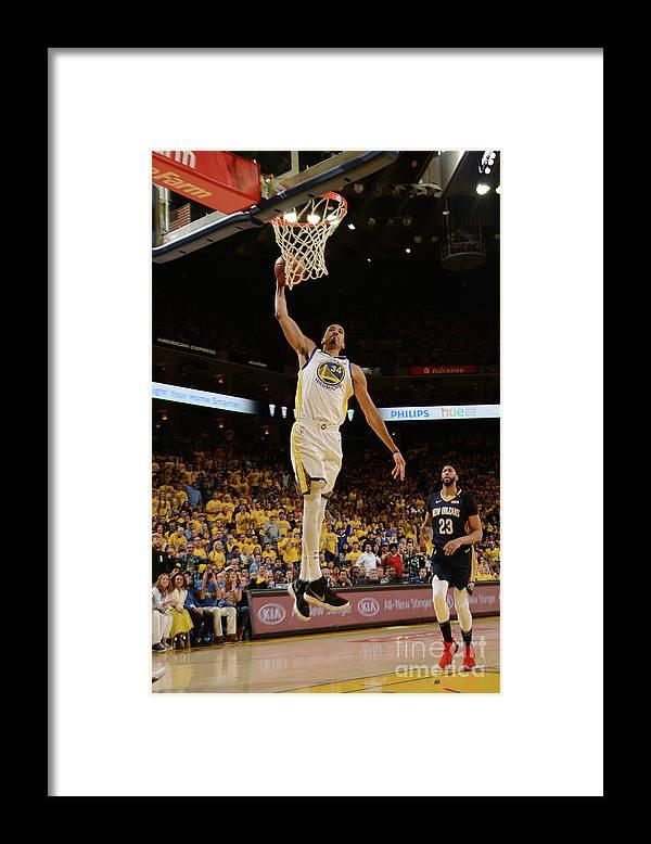 Playoffs Framed Print featuring the photograph Shaun Livingston by Noah Graham
