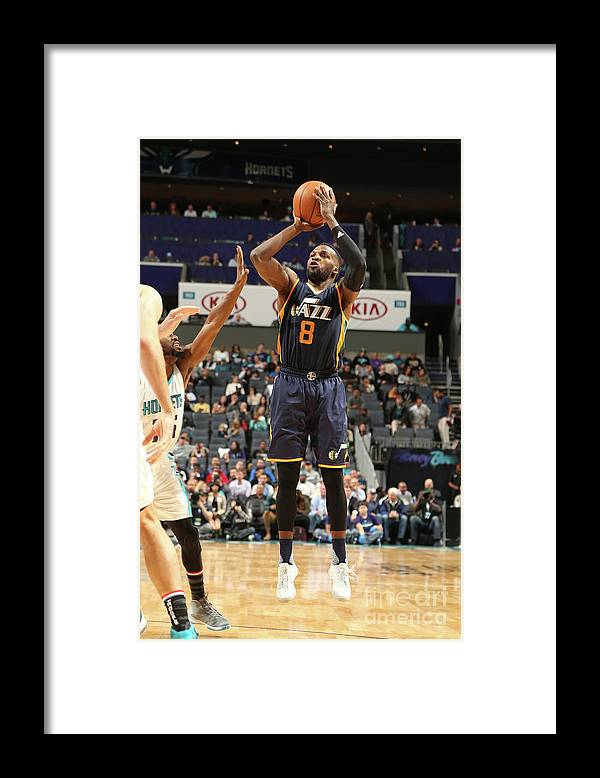 Nba Pro Basketball Framed Print featuring the photograph Shelvin Mack by Kent Smith