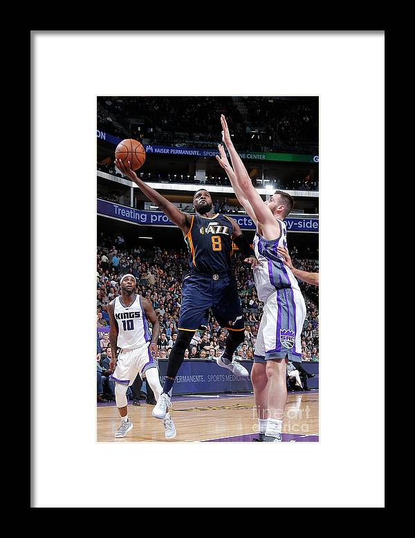 Nba Pro Basketball Framed Print featuring the photograph Shelvin Mack by Rocky Widner