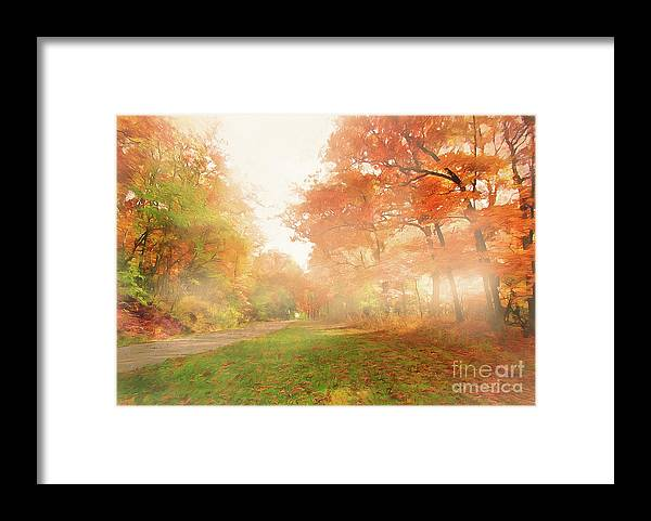 Landscape Framed Print featuring the photograph Shinning Through by Cedric Hampton