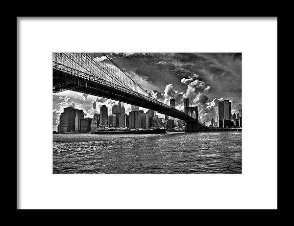 Scenics Framed Print featuring the photograph Simply New York by Alessandro Giorgi Art Photography