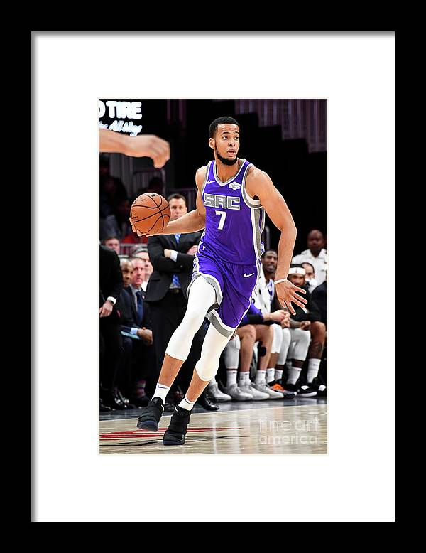 Atlanta Framed Print featuring the photograph Skal Labissiere by Scott Cunningham
