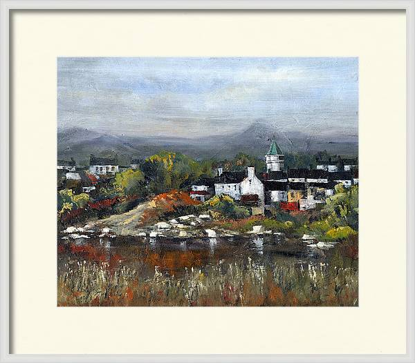 Sneem Village, Ring of Kerry by Val Byrne