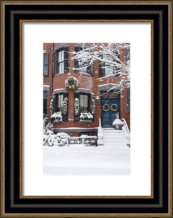 South End Snow by Erica Sloan