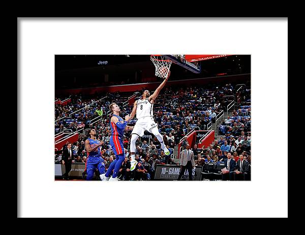 Nba Pro Basketball Framed Print featuring the photograph Spencer Dinwiddie by Brian Sevald