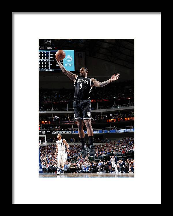 Nba Pro Basketball Framed Print featuring the photograph Spencer Dinwiddie by Glenn James
