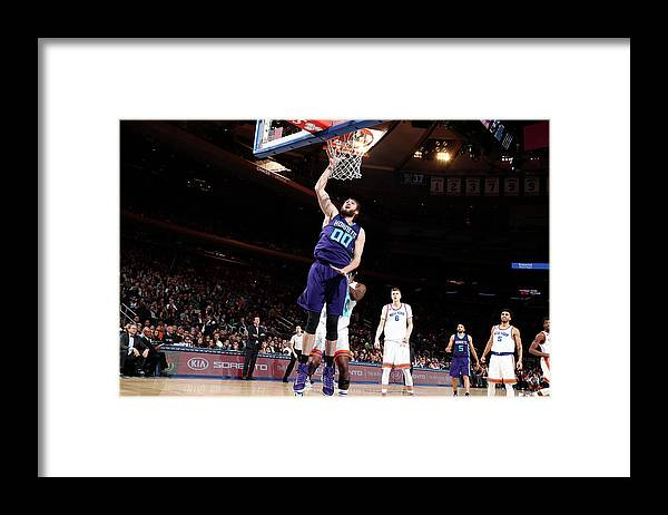 Nba Pro Basketball Framed Print featuring the photograph Spencer Hawes by Nathaniel S. Butler