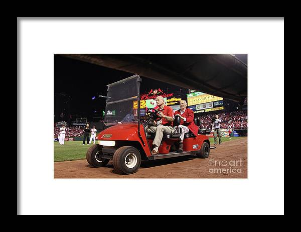 Emergence Framed Print featuring the photograph Stan Musial by Christian Petersen