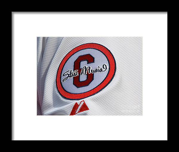 St. Louis Framed Print featuring the photograph Stan Musial by Dilip Vishwanat