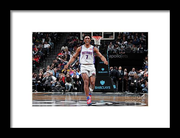 Nba Pro Basketball Framed Print featuring the photograph Stanley Johnson by Nathaniel S. Butler