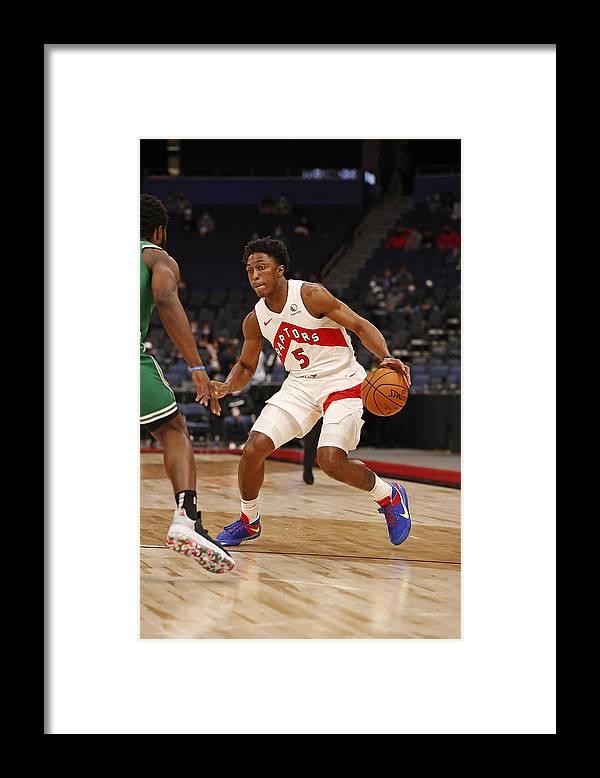 Nba Pro Basketball Framed Print featuring the photograph Stanley Johnson by Scott Audette