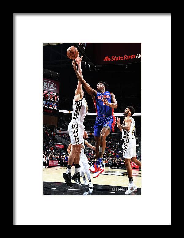 Atlanta Framed Print featuring the photograph Stanley Johnson by Scott Cunningham