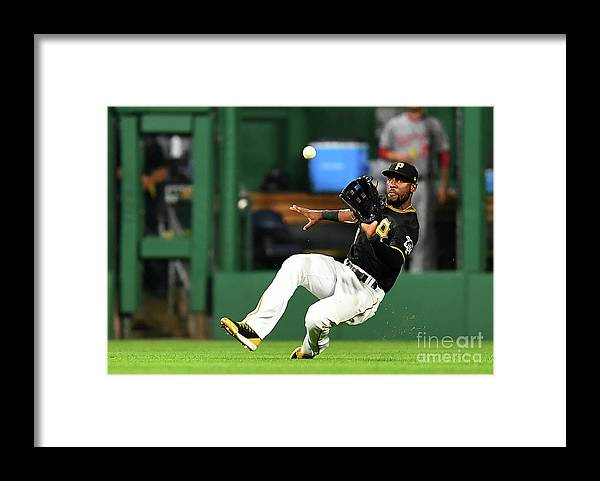 People Framed Print featuring the photograph Starling Marte and Anthony Rendon by Joe Sargent