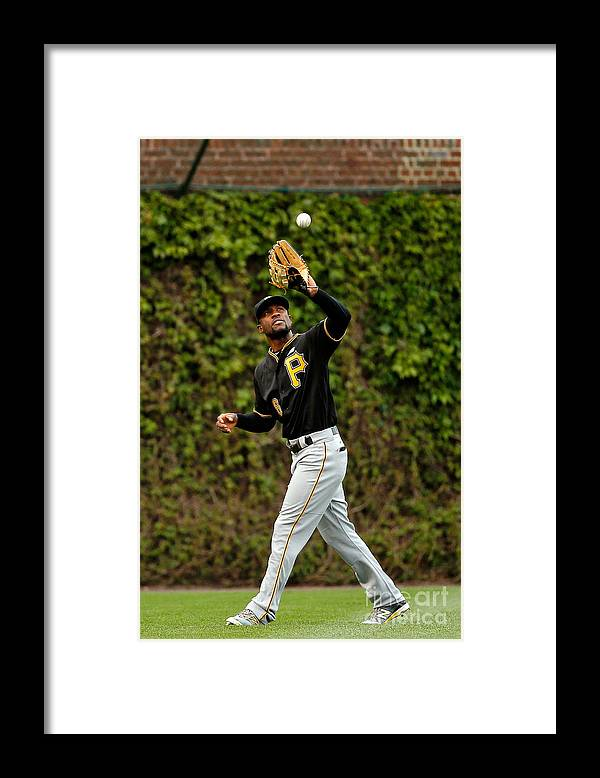 Second Inning Framed Print featuring the photograph Starling Marte by Jon Durr