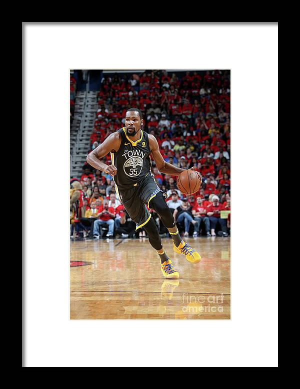Smoothie King Center Framed Print featuring the photograph Stephen Curry by Layne Murdoch