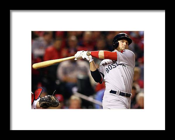 American League Baseball Framed Print featuring the photograph Stephen Drew by Elsa