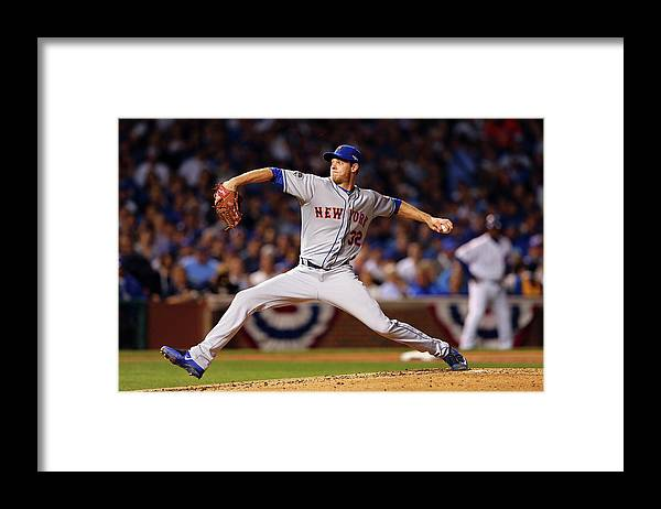 People Framed Print featuring the photograph Steven Matz by Elsa