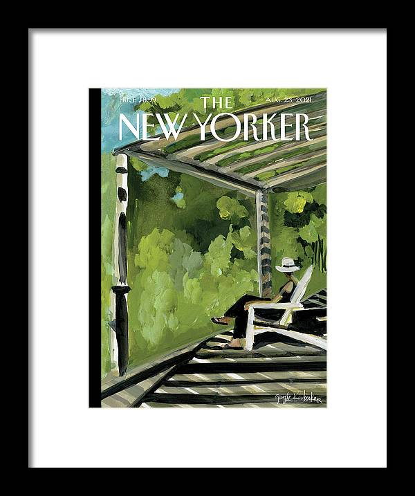 Summer Framed Print featuring the painting Summers Lease by Gayle Kabaker