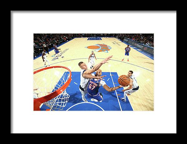 Nba Pro Basketball Framed Print featuring the photograph Taj Gibson by Nathaniel S. Butler