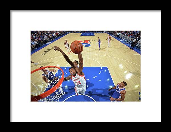 Nba Pro Basketball Framed Print featuring the photograph Tarik Black by Jesse D. Garrabrant