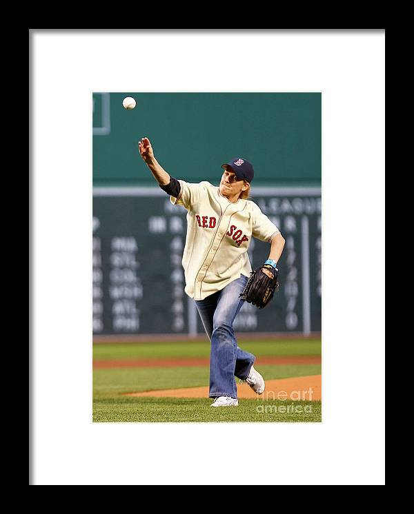People Framed Print featuring the photograph Ted Williams by Jared Wickerham