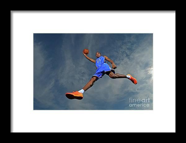 Nba Pro Basketball Framed Print featuring the photograph Terrance Ferguson by Jesse D. Garrabrant