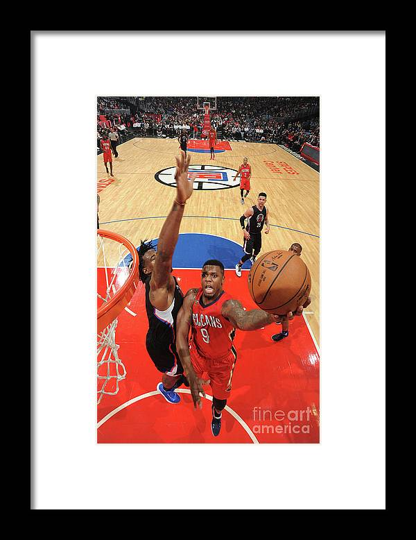 Nba Pro Basketball Framed Print featuring the photograph Terrence Jones by Adam Pantozzi
