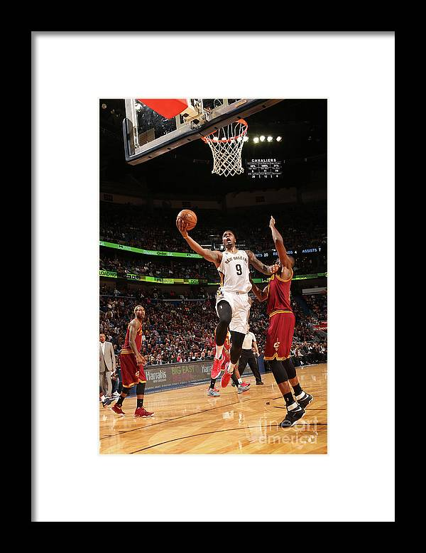 Smoothie King Center Framed Print featuring the photograph Terrence Jones by Layne Murdoch