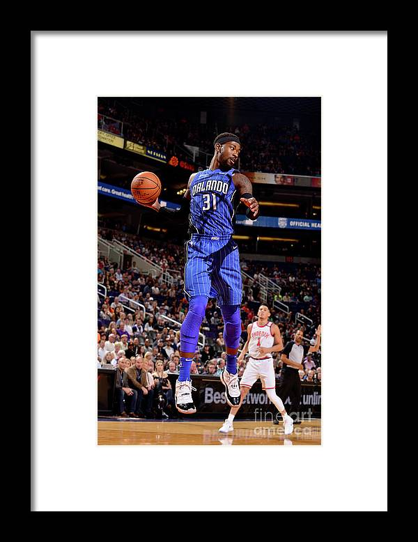 Nba Pro Basketball Framed Print featuring the photograph Terrence Ross by Barry Gossage