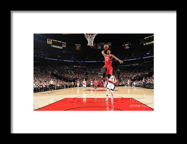 Nba Pro Basketball Framed Print featuring the photograph Terrence Ross by Cameron Browne