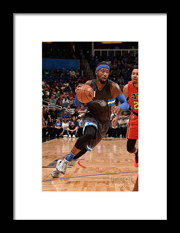 Nba Pro Basketball Framed Print featuring the photograph Terrence Ross by Gary Bassing