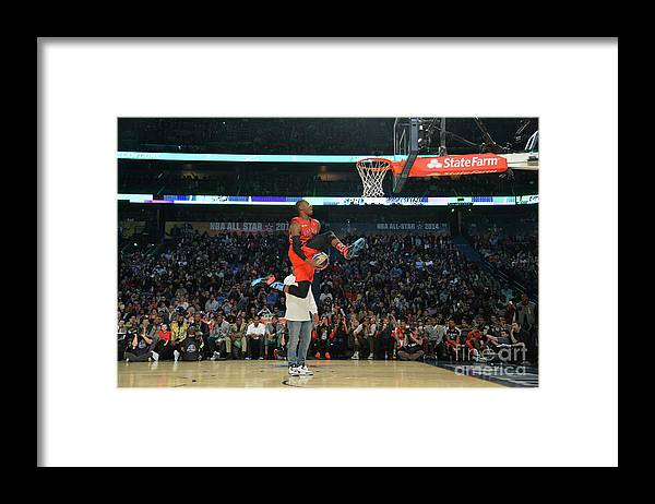 Smoothie King Center Framed Print featuring the photograph Terrence Ross by Jesse D. Garrabrant