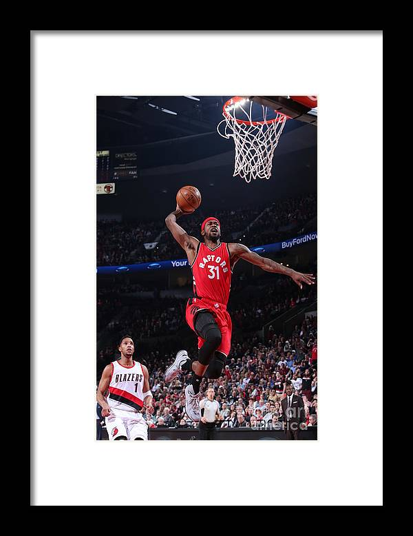 Nba Pro Basketball Framed Print featuring the photograph Terrence Ross by Sam Forencich