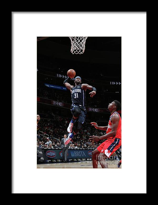 Nba Pro Basketball Framed Print featuring the photograph Terrence Ross by Stephen Gosling