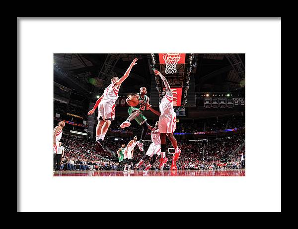 Nba Pro Basketball Framed Print featuring the photograph Terry Rozier by Bill Baptist