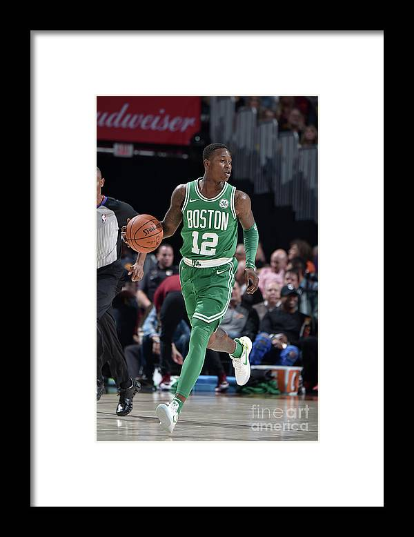 Nba Pro Basketball Framed Print featuring the photograph Terry Rozier by David Liam Kyle