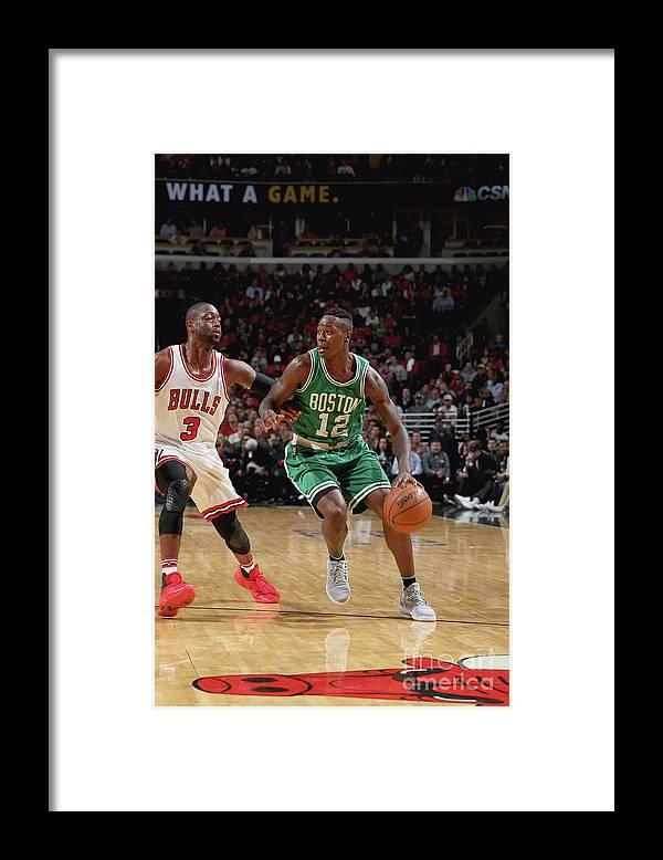 Nba Pro Basketball Framed Print featuring the photograph Terry Rozier by Gary Dineen