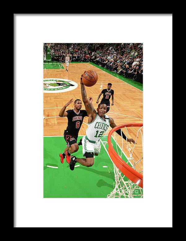 Playoffs Framed Print featuring the photograph Terry Rozier by Jesse D. Garrabrant