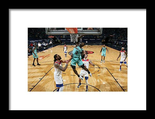 Smoothie King Center Framed Print featuring the photograph Terry Rozier by Layne Murdoch Jr.