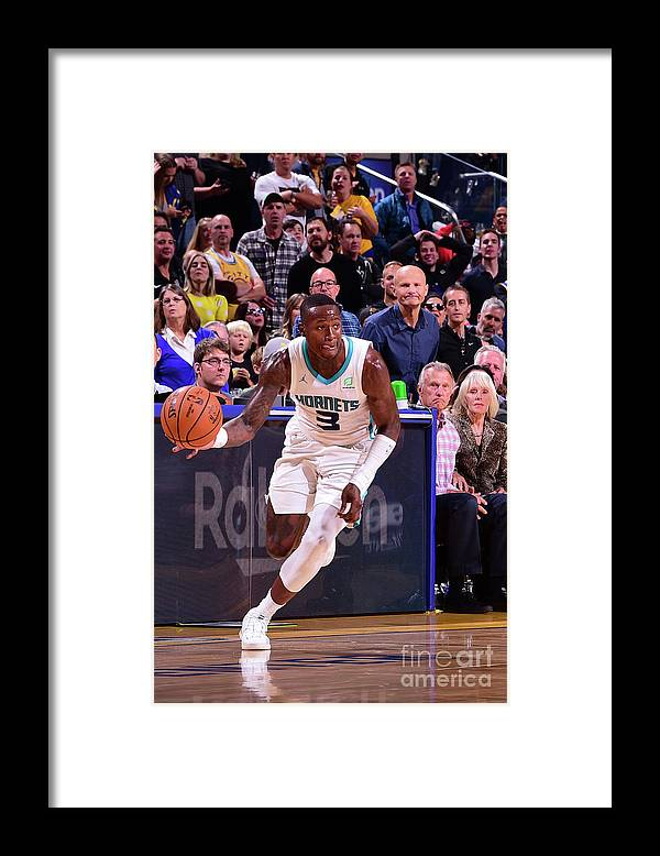 San Francisco Framed Print featuring the photograph Terry Rozier by Noah Graham