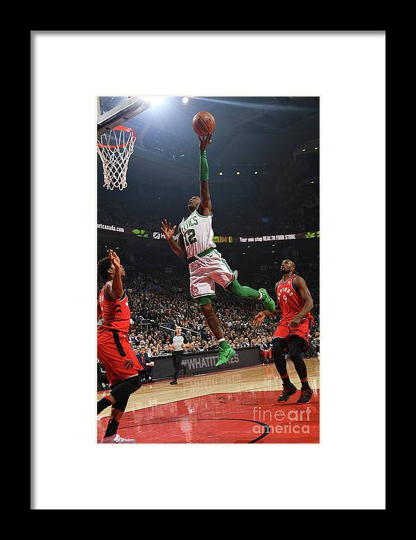 Nba Pro Basketball Framed Print featuring the photograph Terry Rozier by Ron Turenne