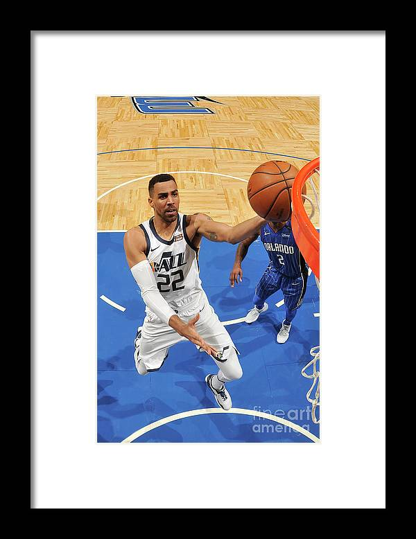 Nba Pro Basketball Framed Print featuring the photograph Thabo Sefolosha by Fernando Medina