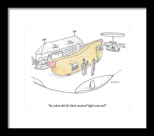 The Check Mustard Light by Michael Maslin