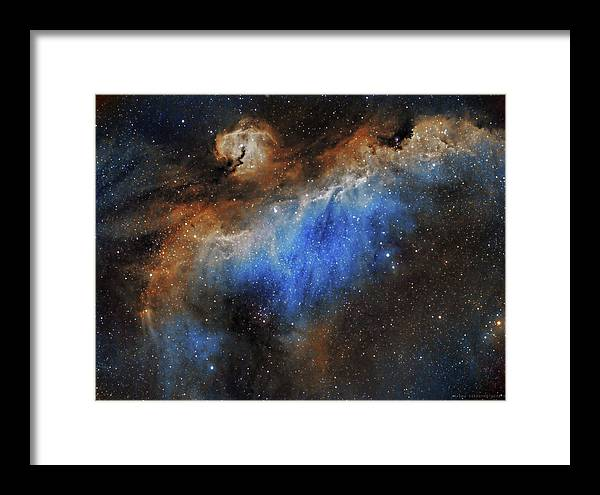 Astronomy Framed Print featuring the photograph The Seagull Nebula by Prabhu Astrophotography