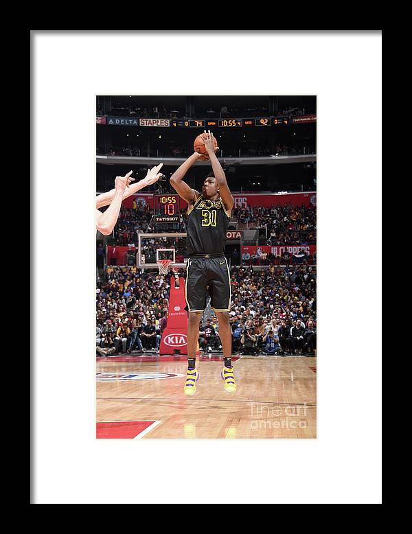 Sports Ball Framed Print featuring the photograph Thomas Bryant by Adam Pantozzi