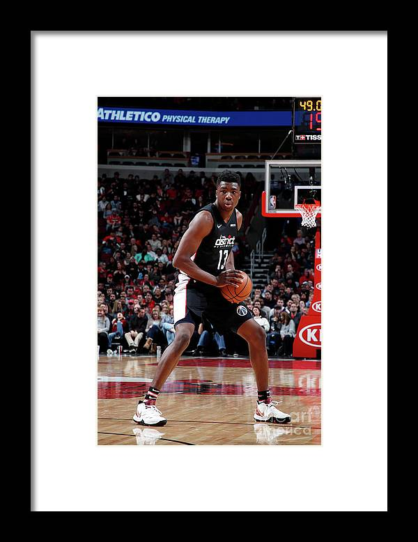Nba Pro Basketball Framed Print featuring the photograph Thomas Bryant by Jeff Haynes