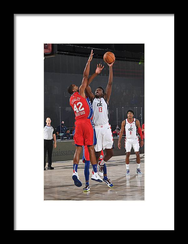 Nba Pro Basketball Framed Print featuring the photograph Thomas Bryant by Jesse D. Garrabrant